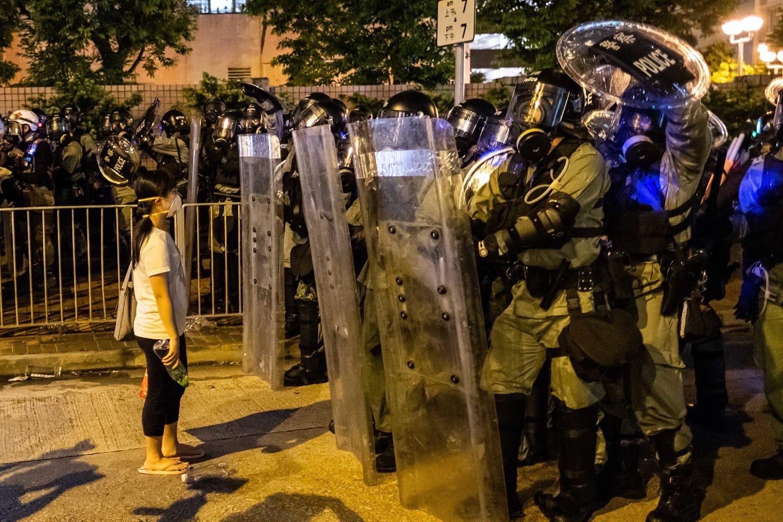 中共在香港反送中問題上的系列造假證據